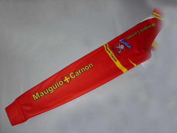 manche rouge maillot 2013